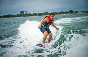Wake Boarding in Mission Bay
